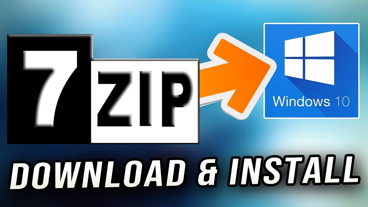 How to Download & Install 7-Zip on Windows 10 for Free!