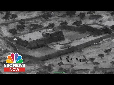 Video Shows Raid That Killed ISIS Leader Al-Baghdadi | NBC N