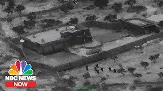 Video Shows Raid That Killed ISIS Leader Al-Baghdadi | NBC News Now