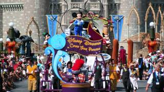 full soundtrack to Disney's dreams come true parade which was walt disneyword resort florida's magic kingdom.