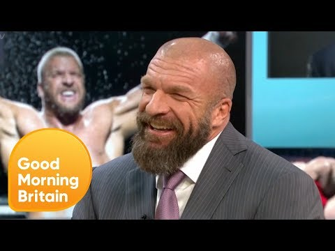 Piers Claims He Can Take on WWE Royalty Triple H | Good Morning Britain