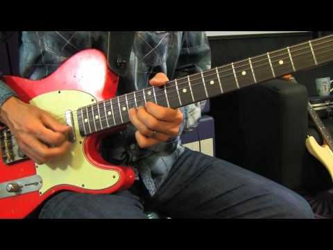 Jimi Hendrix - All Along The Watch Tower - Guitar Solos Lesson