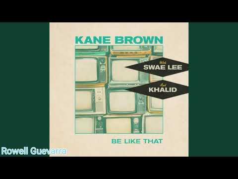 Kane Brown, Swae Lee, Khalid - Be Like That (Official Instrumental)