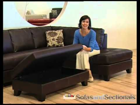 Palliser Como 77202 Modular Leather Sectional   SofasAndSectionals.com