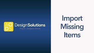 AQ-Design-Lösungen - Zeichnung Importieren Ausrüstung