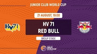 Junior Club World Cup 2018. HV71 – Red Bull (U20)