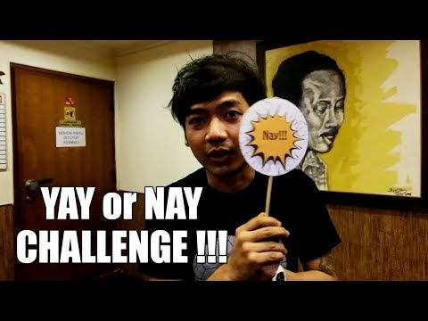 Rai D'MASIV | Yay or Nay Challenge !