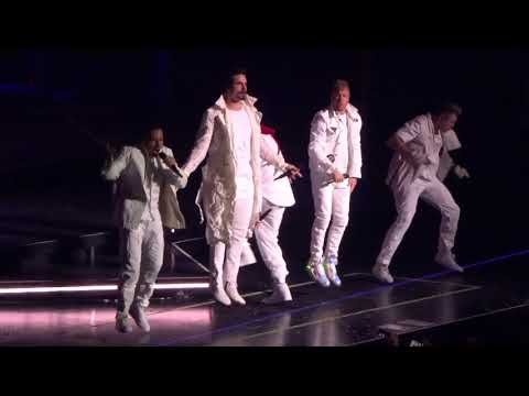 Backstreet Boys - Everybody (Backstreet's Back) At The 02 Arena 17/6/19