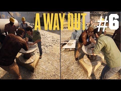 Kädenvääntö rikko koko pelin! - A Way Out