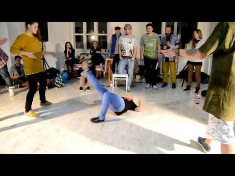 Sunday Hip-hop Upgrade Battle Gim and Кот Hip-Hop 2x2 Нижний Новгород 18.11.2012