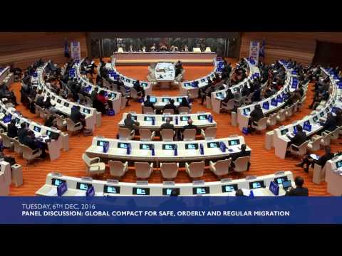 Panel Discussion: Global compact for safe, orderly and regular migration – from process to substance