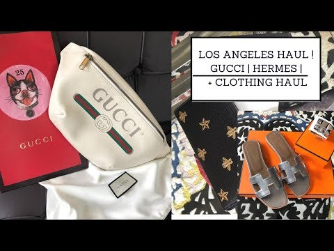 LA HAUL | LUXURY + CLOTHING | Sonal Maherali