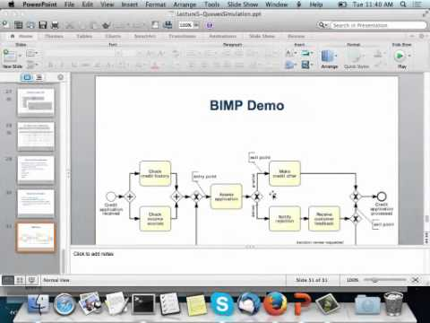 Demo: BPMN Process Model Simulation in BIMP
