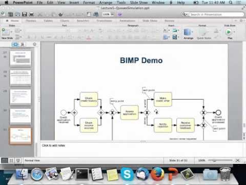 demo bpmn process model simulation in bimp - Bpmn Simulation