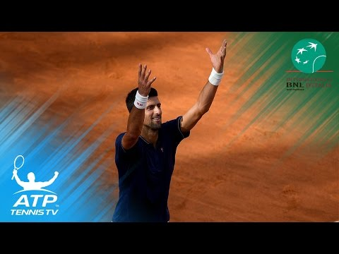 Alexander Zverev, Novak Djokovic advance to final | Rome 2017 Semi-Final Highlights