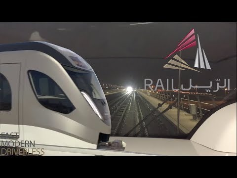 Doha Metro Rail | Driver's View At 60FPS | More Information