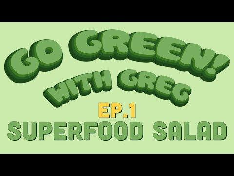 Go Green Cipes Superfood Salad