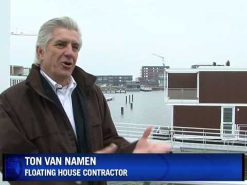 Floating Dutchmen: Holland builds homes on water