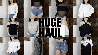 HUGE SPRING TRY ON HAUL | Zara, Princess Polly, Forever 21, Urban Outfitters, American Apparel