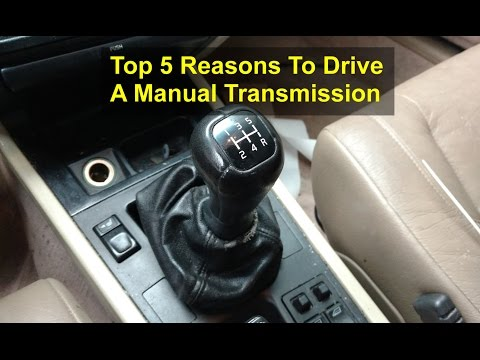 The top 5 reasons to drive a manual transmission vehicle. - VOTD
