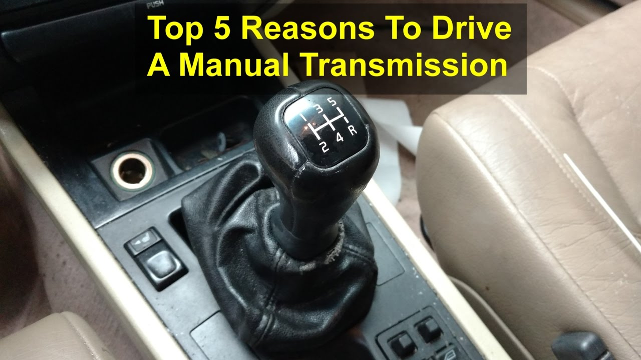 the top 5 reasons to drive a manual transmission vehicle votd rh youtube com Automatic Transmission 6-Speed Manual Transmission