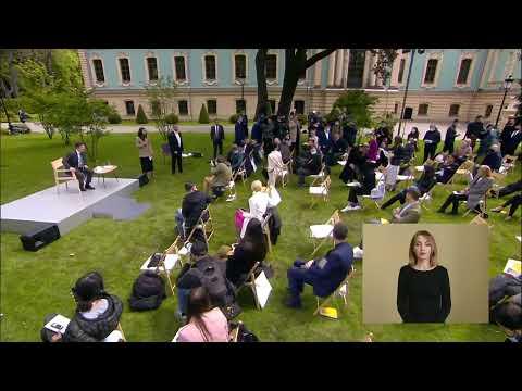 Прес-конференція Президента України Володимира Зеленського / 20.05.2020