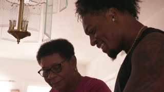 After a long time away, Arizona State's N'Keal Harry made an emotional return to St. Vincent home