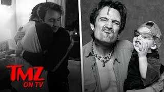 Tommy Lee and Son Brandon Reconcile with Heartfelt Hug After Bitter Yearlong Beef | TMZ TV