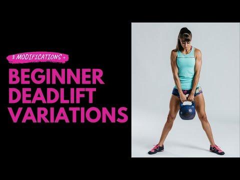 Beginner Deadlift Variations | Deadlift Modifications