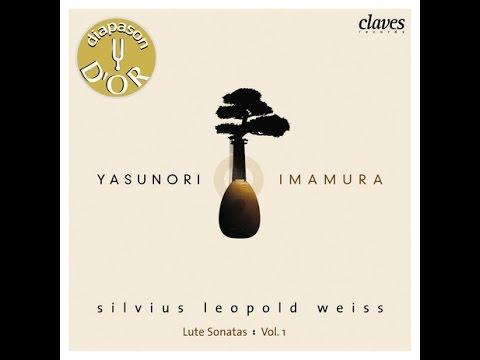 Yasunori Imamura - Silvius Leopold Weiss: Prélude & Fantasie In C Minor (Lute)