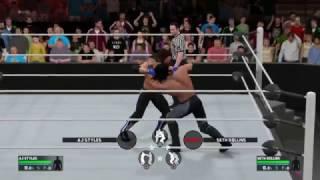 WWE 2K17 Patch 1.05 Manual Chain wrestling