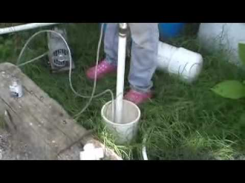 Brumbert Airlift Water Pump Youtube