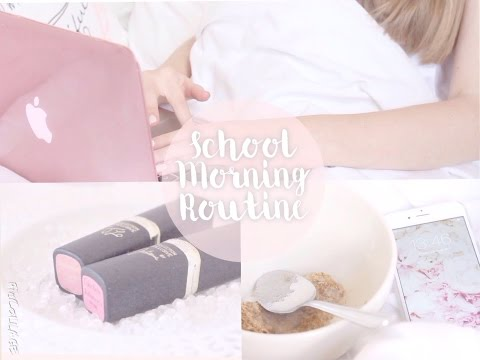School Morning Routine 2015 | Floral Princess