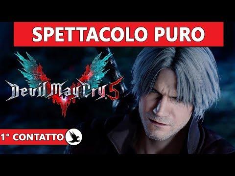SPETTACOLO PURO ► DEVIL MAY CRY 5 Gameplay ITA [Primo Contatto] DEMO - 동영상