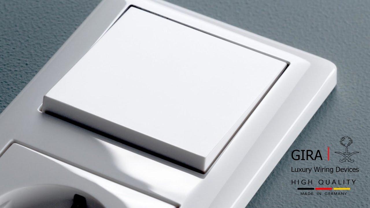GIRA Wiring Devices | Standard 55 | Germany | أجود أفياش ومفاتيح ...