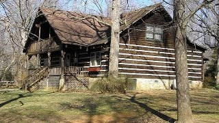 Oak Hill Lodge-Log Home For Sale-Prince Edward County VA