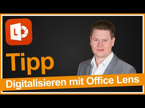 Mit Office Lens Flipcharts Visitenkarten Und Dokumente Auf
