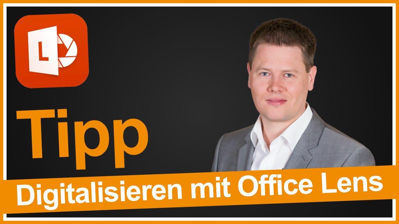 Mit Office Lens Flipcharts Visitenkarten Und Dokumente Auf Dem Iphone Digitalisieren