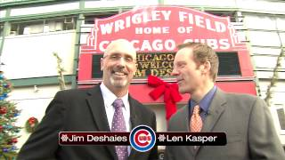 Happy Holidays from WGNSports and Len and JD