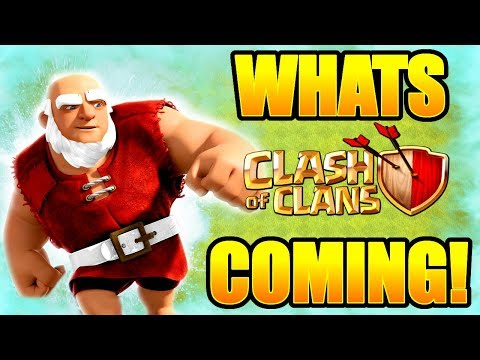 THE FUTURE OF CLASH OF CLANS! - WHATS COMING AT CHRISTMAS!? - TONY ASKS TONY ANSWERS!