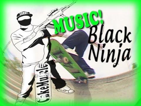 Black Ninja Shirts - MUSICAL MONTAGE