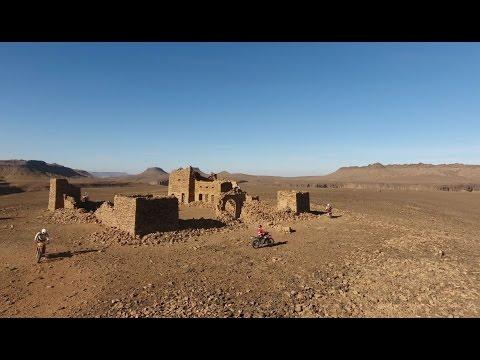 Mauritania in Moto e 4x4 - Drone 4K