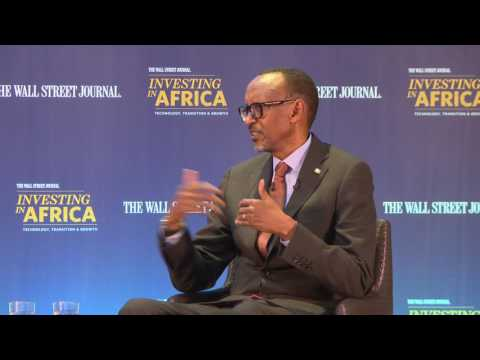 President Kagame speaks at The Wall Street Journal, Investing in Africa conference  (London)