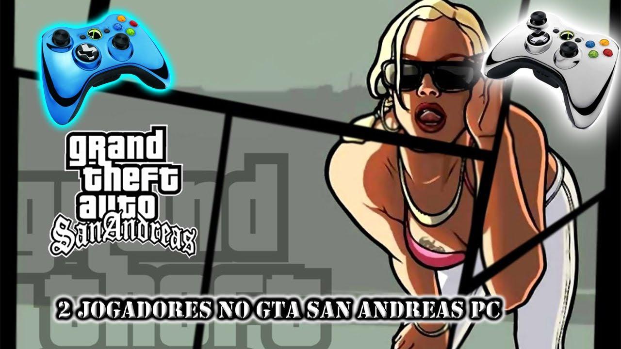 GTA San Andreas 2 Jogadores PC (Jogue com Amigos)