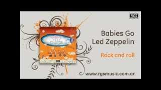 Babies Go Led Zeppelin - Rock and roll