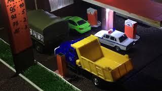 Построена заправка АЗС!!! Теперь автомобили есть где заправлять!!! Обзор!!! Заправка автомобилей!!!