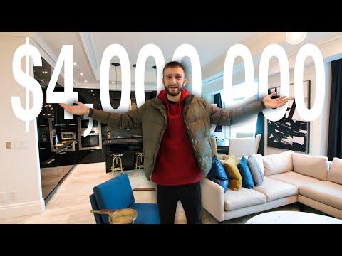 $4 MILLION PENTHOUSE Condo Tour