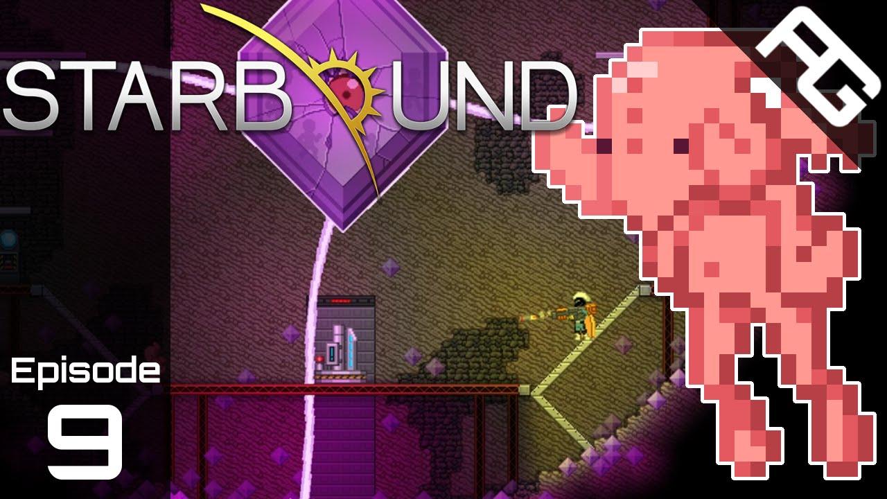 Squishy survival 9 - Erchius Mining Facility Starbound 1 0 Full Playthrough Episode 9 Starbound Survival Mode