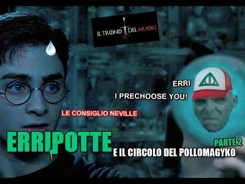 """RIASSUNTO ACCURATISSIMO HARRY POTTER """"ERRIPOTTE E IL CIRCOLO DEL POLLOMAGYKO"""" PT2"""