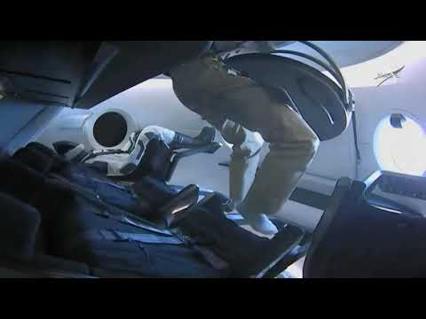 SpaceX Crew Dragon Hatch Closed By Space Station Crew